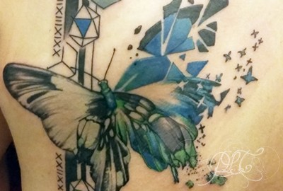 Papillon Tatouage