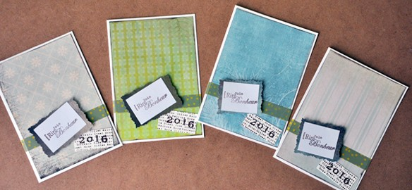 Prendre le temps - Cartes de vœux 2016
