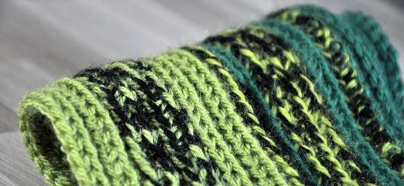 Prendre le temps - Écharpe en crochet