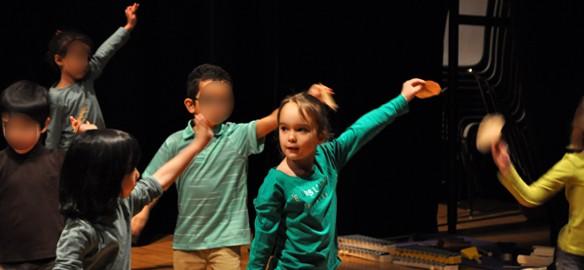 Prendre le temps - Premier spectacle de danse et de musique de Titechérie