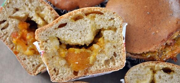 Prendre le temps - Muffins à la confiture de clémentine corse #vegan #bio