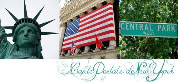 Prendre le temps - Cartes Postales 03 - New York - voyage