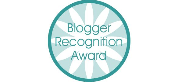Prendre le temps - Blogger Recognition Award