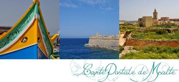 Prendre le temps - Cartes Postales 08 - Malte - voyage