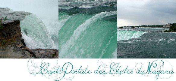 Prendre le temps - Cartes Postales 09 - Chutes du Niagara - Amérique - Canada - Etats-Unis - voyage