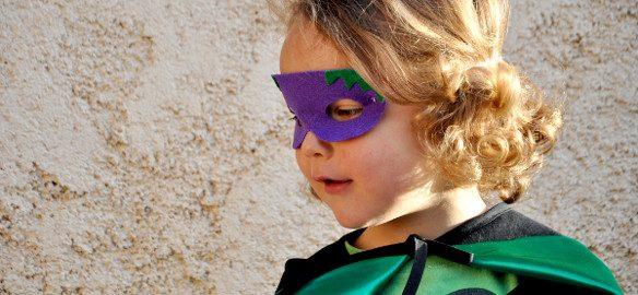 Prendre le temps - Couture - Super-héros - Végétal - Aubergine
